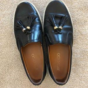 Jimmy Choo Black Slip-ons